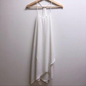 Soprano XS white strappy halter neck dress